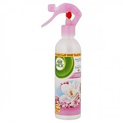 AIR WICK osviežovač vzduchu a textílií Magnólia a čerešňový kvet 345ml