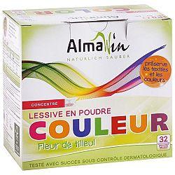 ALMAWIN prací prášok na farebné prádlo Lipový kvet 1kg / 32 praní