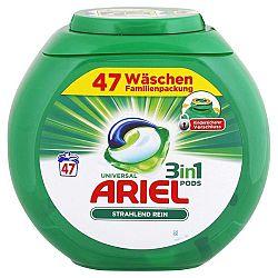 ARIEL Pods 3v1 kapsule na univerzálne pranie rodinné balenie 47 ks
