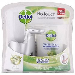 DETTOL tekuté mydlo a bezdotykový dávkovač Aloe Vera 250 ml