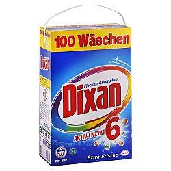 DIXAN prášok na pranie šampión proti fľakom 7 kg / 100 praní