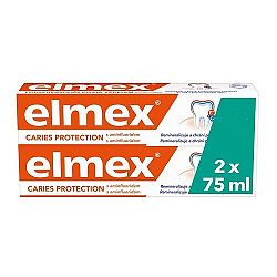 Elmex Caries Protection zubná pasta s aminfluoridom duopack 2x75 ml
