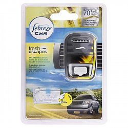FEBREZE dávkovač s náplňou do osviežovača vzduchu do auta Svieži citrón 7 ml