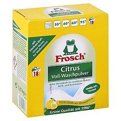 FROSCH BIO prášok na pranie Citrus 1,35 kg / 18 praní