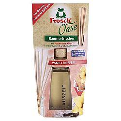 FROSCH OASE BIO osviežovač vzduchu Vanilkový rožtek 90 ml