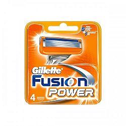 Gillette Fusion Power náhradné hlavice 4 ks