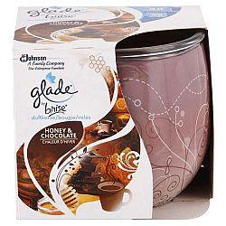 GLADE vonná sviečka Med a čokoláda 120 g