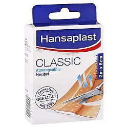 HANSAPLAST Classic textilná náplasť s vankúšikom 2m x 6cm