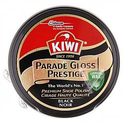 KIWI Premium krém na topánky Čierny 50 ml
