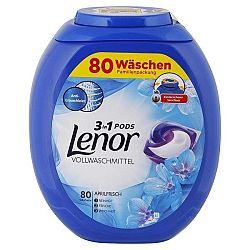 LENOR Pods 3v1 kapsule na univerzálne pranie bielizne rodinné balenie Aprílová sviežosť 80 ks