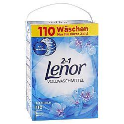 LENOR univerzálny prací prášok 2v1 Aprílová sviežosť 7,15 kg / 110 praní
