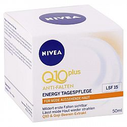 NIVEA denný krém proti vráskam Q10 Plus Goji SPF 15 50 ml