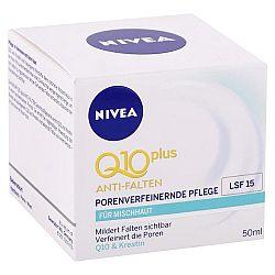 NIVEA denný krém proti vráskam Q10 Plus SPF 15 50 ml