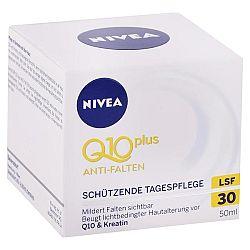 NIVEA denný krém proti vráskam Q10 Plus SPF 30 50 ml