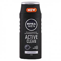 NIVEA Men šampón na vlasy pre mužov Active Clean 250 ml