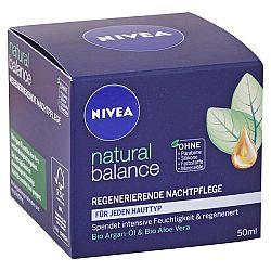NIVEA nočný krém na regeneráciu Natural Balance 50 ml