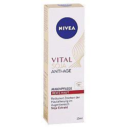 NIVEA očný krém proti vráskam Vital Soja 15 ml