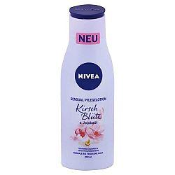 NIVEA Sensual telové mlieko Čerešňový kvet a jojobový olej 200 ml