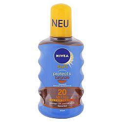 NIVEA Sun olej na opaľovanie podporujúci zhnednutie SPF 20 200 ml