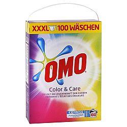 OMO Color & Care prášok na farebné pranie 6,5 kg / 100 praní