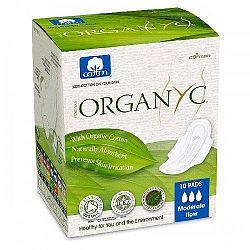 ORGANYC dámske vložky z organickej bavlny-stredné krvácanie 10 ks