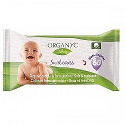 ORGANYC detské vlhčené obrúsky z organickej bavlny Sweet Caress 60 ks