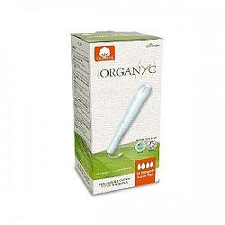 ORGANYC tampóny s aplikátorom z organickej bavlny-super plus 14 ks