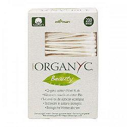 ORGANYC vatové tyčinky z organickej bavlny 200 ks