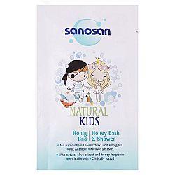 SANOSAN detský sprchový gél a šampón Vôňa medu 40 ml