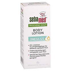 SEBAMED telové mlieko na suchú pokožku s Omega 12% 200 ml