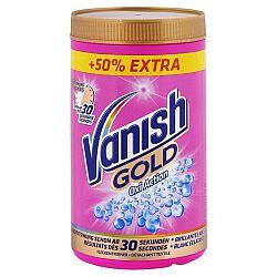 VANISH Gold Oxi Action práškový odstraňovač škvŕn na farebné prádlo 1,5 kg