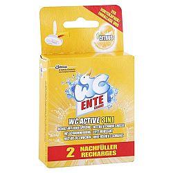 WC ENTE náhradná náplň do WC bloku 3v1 Citrusová sviežosť 2 x 40 g