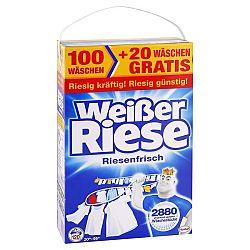 WEISSER RIESE Riesenfrisch prášok na univerzálne pranie bielizne 8,40 kg / 120 praní