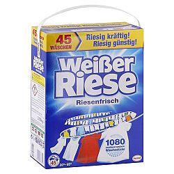 WEISSER RIESE univerzálny prášok na pranie bielizne 3,15 kg / 45 praní