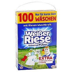WEISSER RIESE univerzálny prášok na pranie bielizne 5,5 kg / 100 praní