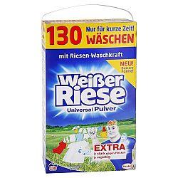 WEISSER RIESE univerzálny prášok na pranie bielizne 7,15 kg / 130 praní