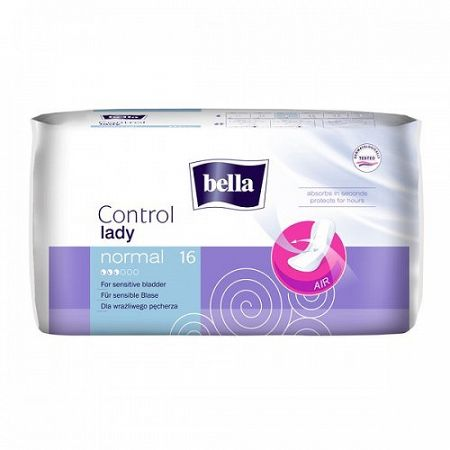 Bella LADY Control urologické vložky Normal 16 ks