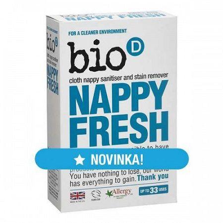 Bio-D odstraňovač škvŕn a dezinfekcia plienok 500 g