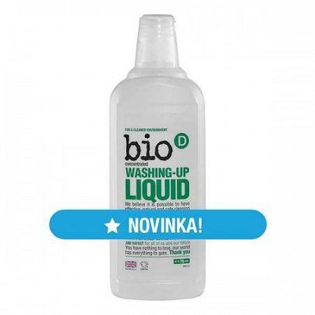 Bio-D prostriedok na umývanie riadu 750 ml