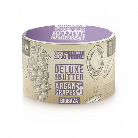 Biobaza BODY telové maslo s argánom a hroznom 220 g