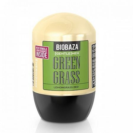 Biobaza DEO MEN roll on green grass 50 ml