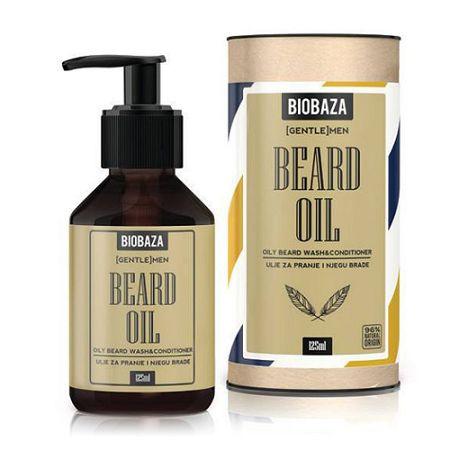 Biobaza MEN olej a kondicionér na umývanie brady 125 ml