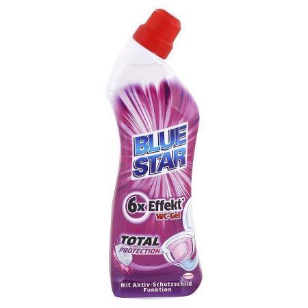 BLUE STAR čistič WC Total Protection 750 ml