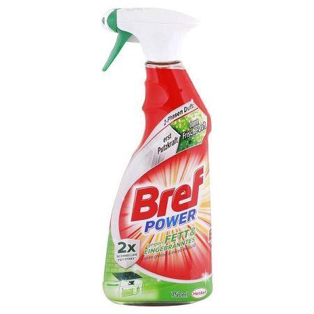 BREF power čistič kuchyne na tuk a spáleniny 750 ml