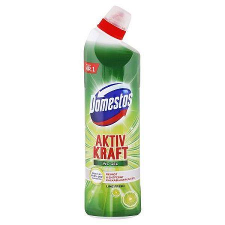DOMESTOS gélový čistič toalety Lime Fresh 750 ml