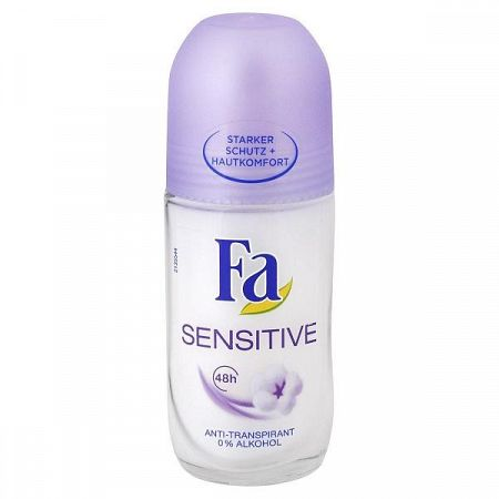 FA guľôčkový antiperspirant Sensitive 50 ml