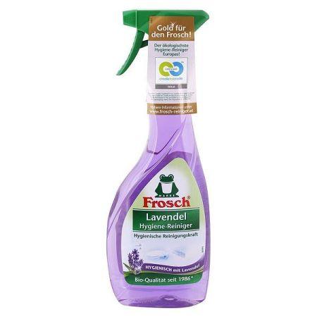 FROSCH BIO hygienický čistič na kúpeľne a toalety Levanduľa 500 ml