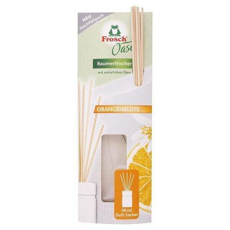 FROSCH OASE BIO osviežovač vzduchu náhradná náplň Pomarančové kvety 90 ml