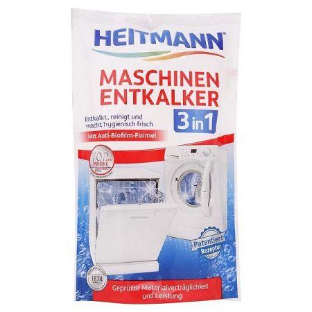 HEITMANN odvápňovač pračky a umývačky riadu 3v1 175 g