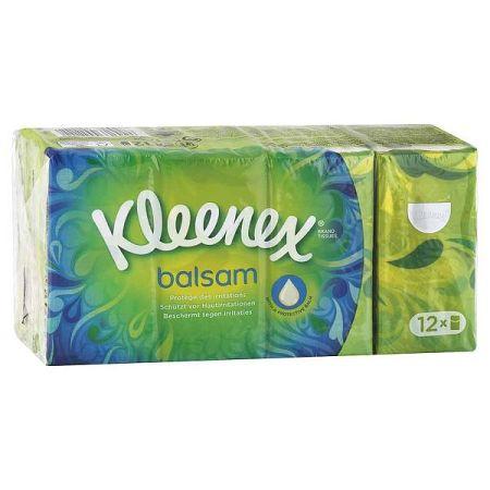 KLEENEX hygienické vreckovky 4-vrstvové 12 balíkov